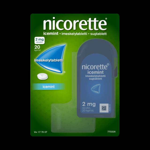 NICORETTE®-imeskelytabletti